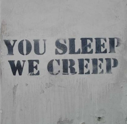 sleeping creep sex